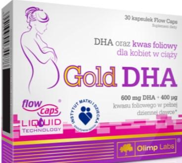 GOLD DHA 30 KAPS OLIMP LABS