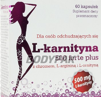 L-KARNITYNA 500 FORTE PLUS 60KAPS OLIMP LABS
