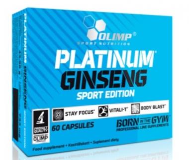 PLATINUM GINSENG™ SPORT EDITION 550 MG OLIMP