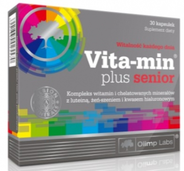 VITA-MIN PLUS SENIOR 30 KAPS OLIMP LABS